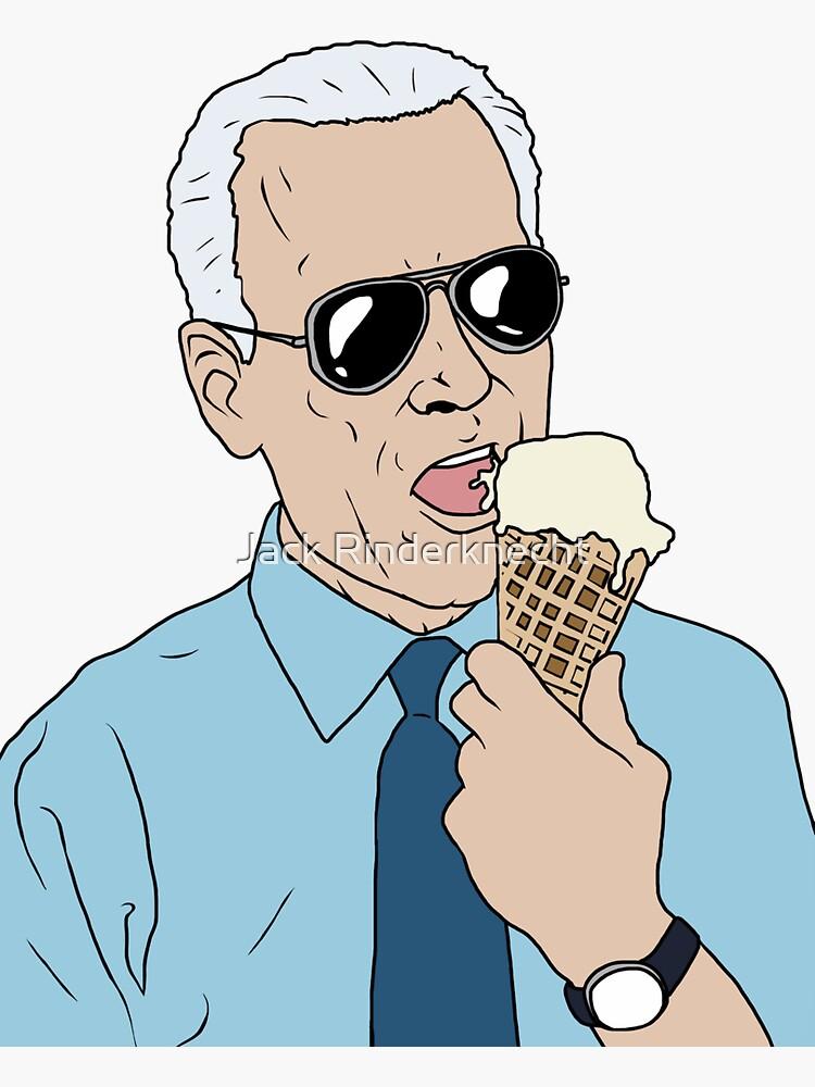 Joe Biden Loves Ice Cream by DarkFireNacho
