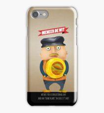 meneer De Wit iPhone Case/Skin