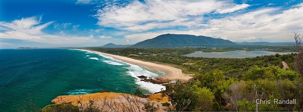 Holiday Paradise at Dunbogan Beach by Chris  Randall