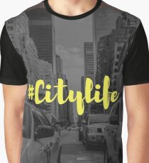 #Citylife Graphic T-Shirt