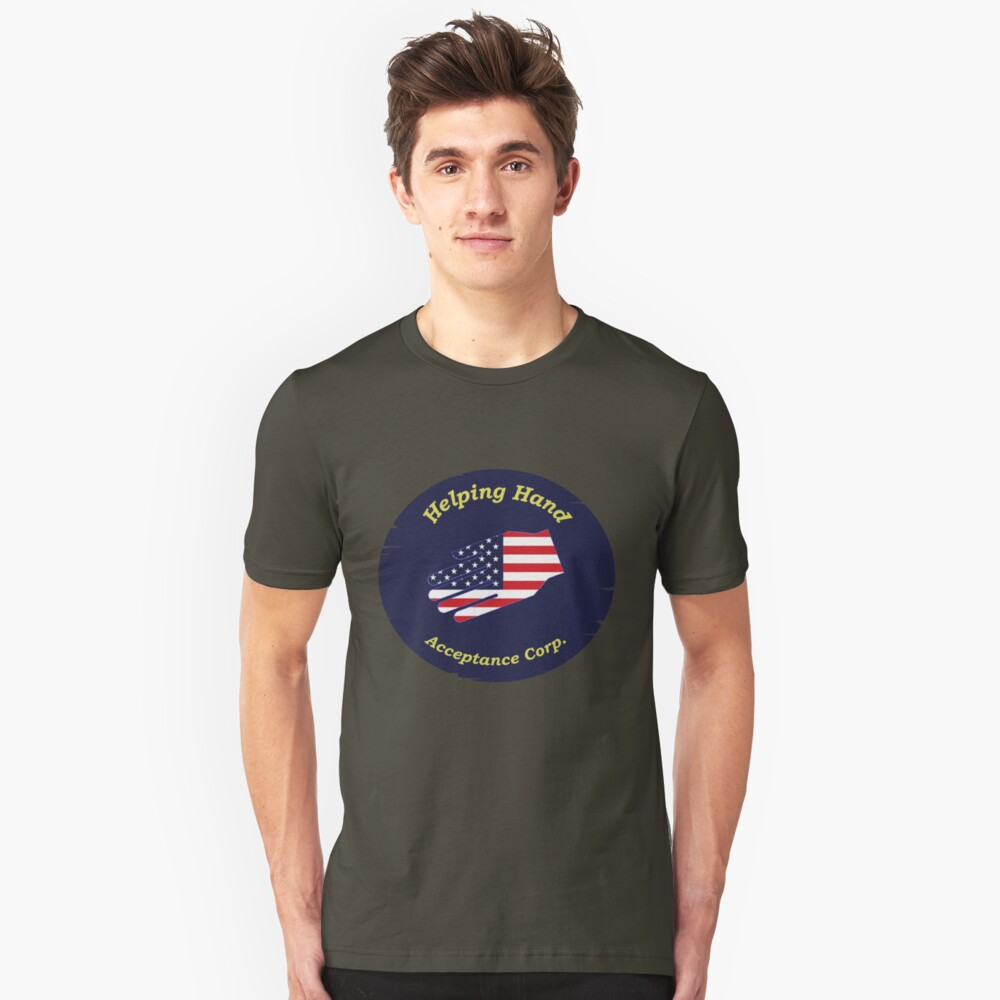 Helping Hand Acceptance Corp. Unisex T-Shirt Front