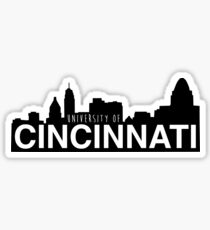 University of Cincinnati skyline Sticker