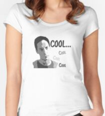Cool. Cool cool cool. - Community Women's Fitted Scoop T-Shirt