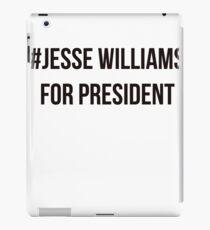 Jesse Williams for President iPad Case/Skin