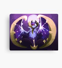 Pokémon - Lunala Canvas Print