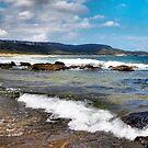Summer Down Under: Killcare Beach by George Petrovsky