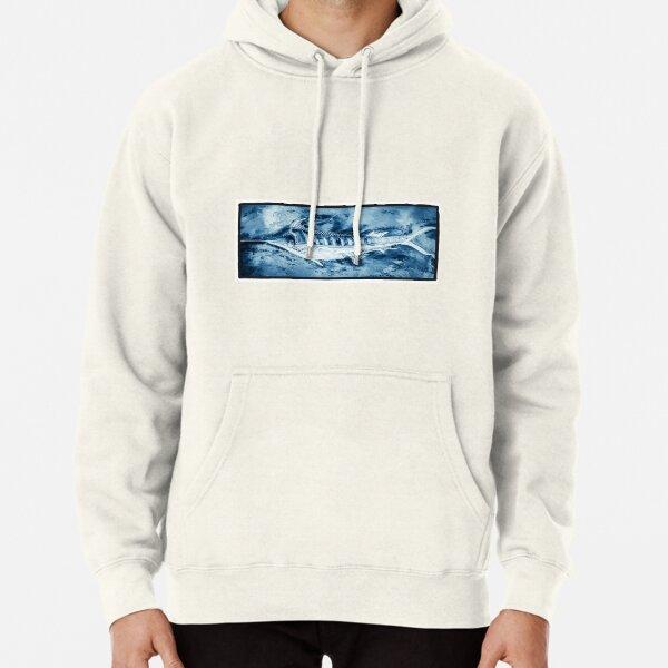 Blue Marlin Pullover Hoodie