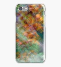 Tree leaves in Peebles park 2 iPhone Case/Skin