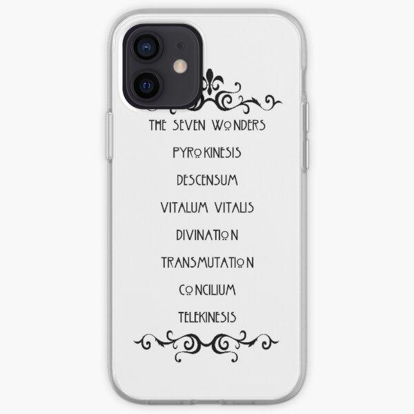 Les sept merveilles Coque souple iPhone