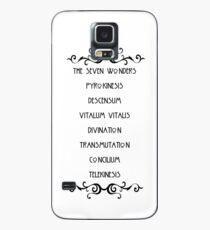 Funda/vinilo para Samsung Galaxy Las siete maravillas