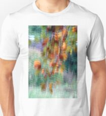 Tree leaves in Peebles park Unisex T-Shirt