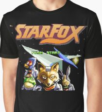 Star Fox (SNES Title Screen) Graphic T-Shirt