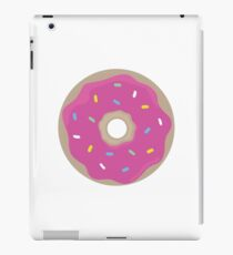Pink Doughnut Vector iPad Case/Skin