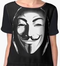 ANONYMOUS T-SHIRT Chiffon Top