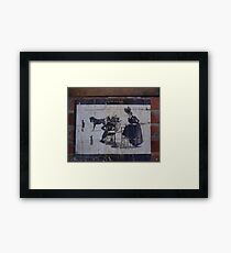 The Fast Lady Framed Print