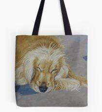 Sleeping Pet Tote Bag