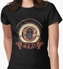 Pyro - Red Team Womens Fitted T-Shirt