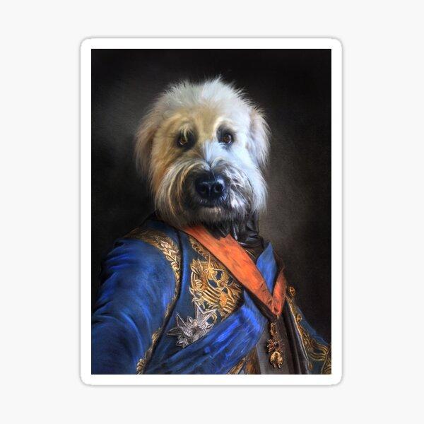 Dog Portrait - Oliver Sticker