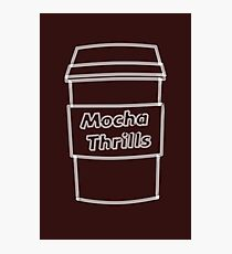 Cool Mocha Coffee Cup  Photographic Print