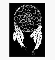 Dreamcatcher - Black Photographic Print