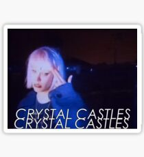 Crystal Castles Sticker