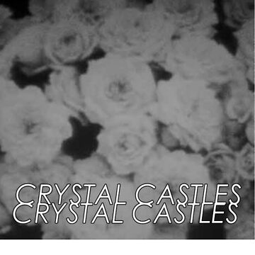 Crystal castles washed out flowers  by moonaholic