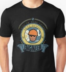 Engineer - Blue Team Unisex T-Shirt