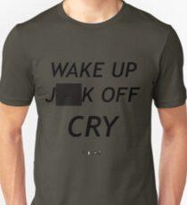 FIDLAR WAKE UP )(%*$ OFF CRY  T-Shirt