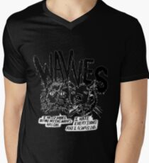 Wavves I Hated Wavves Before they were cool  Mens V-Neck T-Shirt