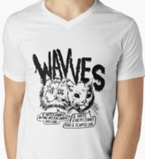 Wavves I Hated Wavves Before they were cool  Men's V-Neck T-Shirt