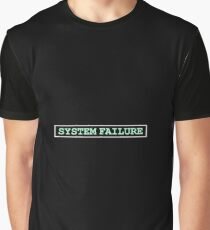 System Failure Graphic T-Shirt