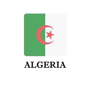 Algeria Flag Tee African Pride by smm2276