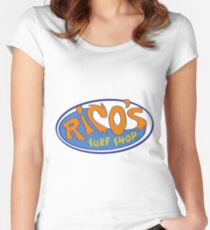 Rico's Surf Shop - Hannah Montana Fitted Scoop T-Shirt