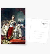 Franz Xaver Winterhalter Porträt der Königin Victoria Postkarten