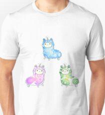 Tie Dye Cute Llama/Alpaca Pack T-Shirt