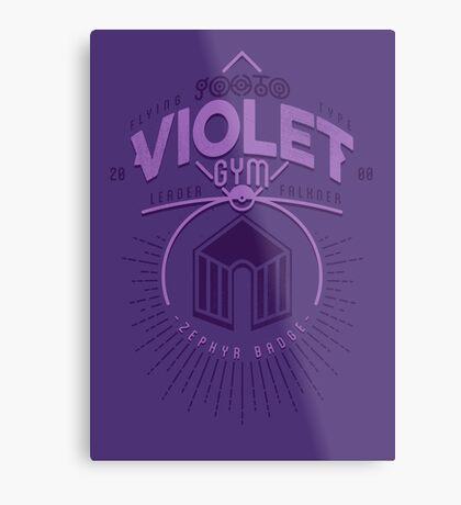 Violet Gym Metal Print