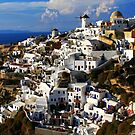Santorini, Oia view by fotowagner