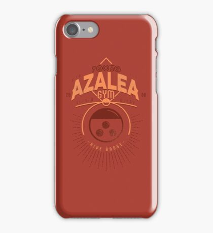 Azalea Gym iPhone Case/Skin