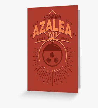 Azalea Gym Greeting Card