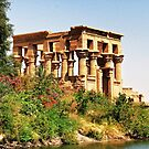 Philae temple by fotowagner