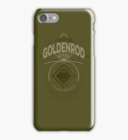 Goldenrod Gym iPhone Case/Skin
