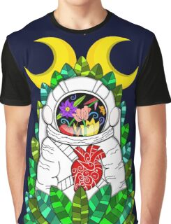 Nature of space T-shirt Graphique