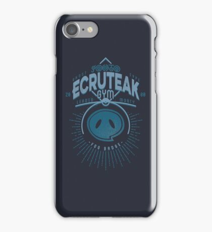 Ecruteak Gym iPhone Case/Skin