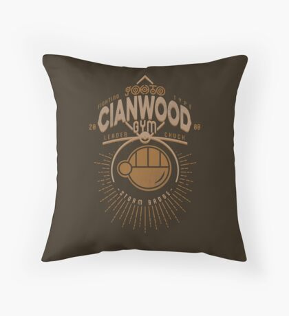 Cianwood Gym Throw Pillow