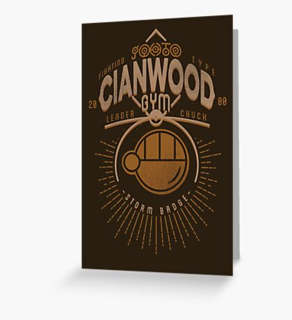 Cianwood Gym Greeting Card