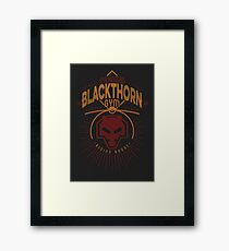 Blackthorn Gym Framed Print