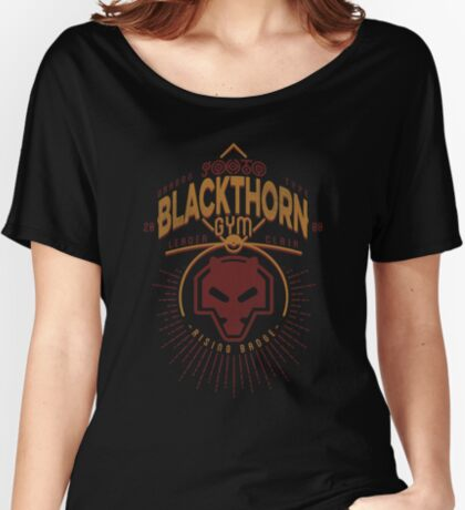 Blackthorn Gym Women's Relaxed Fit T-Shirt