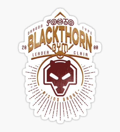 Blackthorn Gym Sticker