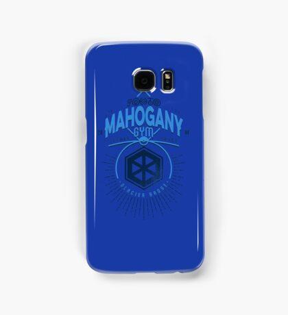 Mahogany Gym Samsung Galaxy Case/Skin