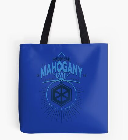 Mahogany Gym Tote Bag